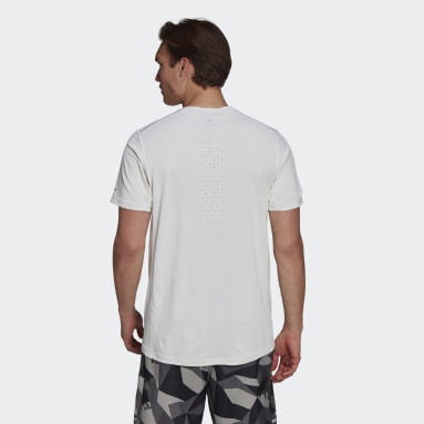 Heren Hardlopen Wit adidas HEAT.RDY Running T-shirt
