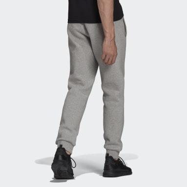 Men Originals Grey Adicolor Essentials Trefoil Pants