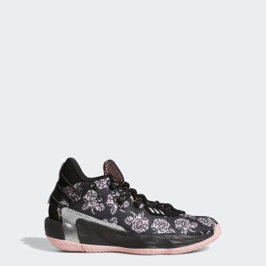 Kids Basketball Black Dame 7 Shoes