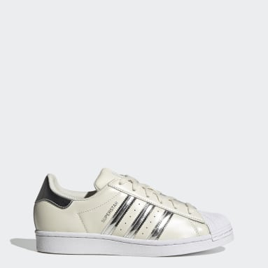 Women Originals White Superstar Shoes