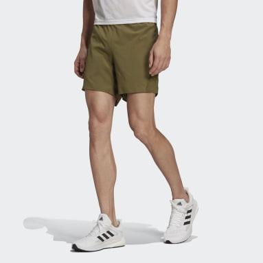 Men Running Green Made To Be Remade Running Shorts