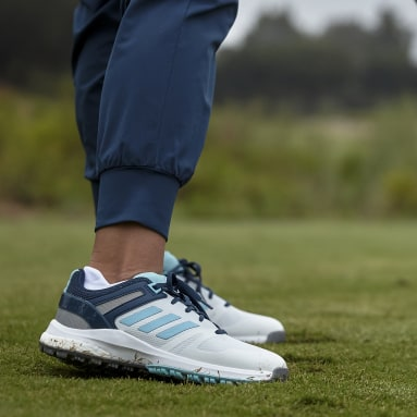 Sapatos de Golfe Sem Bicos EQT Branco Mulher Golfe