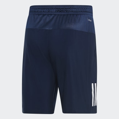 Short Club 3-Stripes 9-Inch Bleu Hommes Tennis