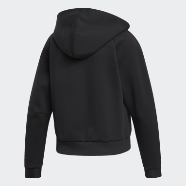 Women Sportswear Black Must Haves Hoodie