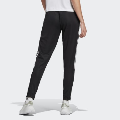 Women Football Black Tiro 21 Track Pants
