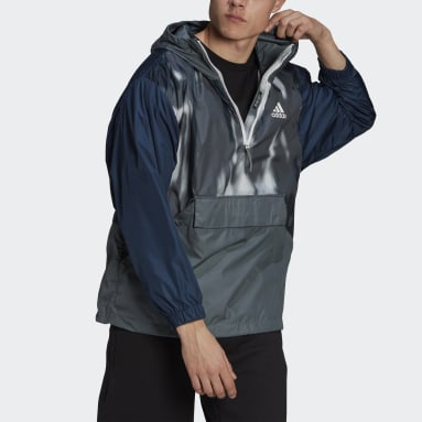 Männer City Outdoor Back to Sport WIND.RDY Anorak Blau