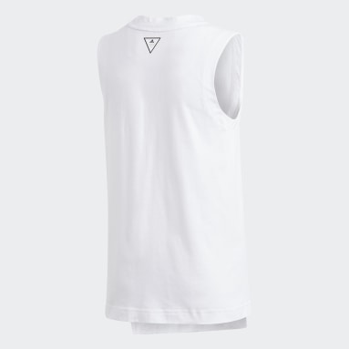 Musculosa XFG Blanco Niña Training