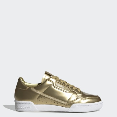 Women Originals Gold Continental 80 Shoes