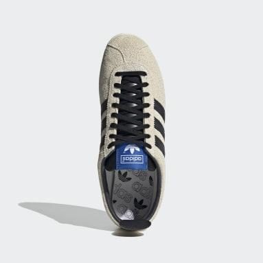 белый Кроссовки Gazelle Vintage