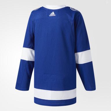 Hockey Blue Lightning Home Authentic Pro Jersey