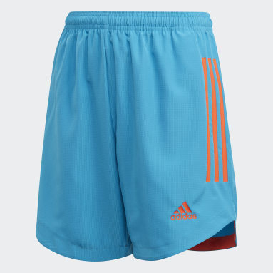 Short Condivo 20 Primeblue Bleu Enfants Fitness Et Training