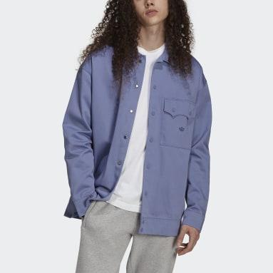 Adicolor Twill Jacket Fioletowy