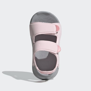Infants ว่ายน้ำ สีชมพู รองเท้าแตะริมสระ