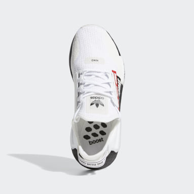 Youth Originals White NMD_R1 V2 Shoes