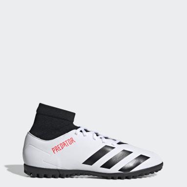Zapatos de fútbol Predator 20.4 S Pasto Sintético Blanco Hombre Fútbol