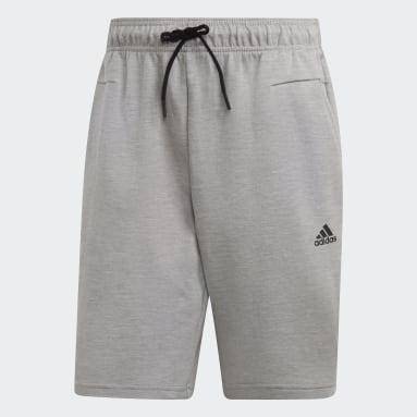 Shorts ID Staduim Gris Hombre Yoga