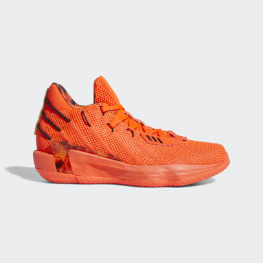 Basketball Orange Dame 7 Shoes Fire Inside