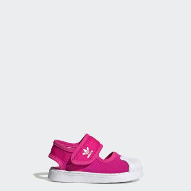 Dievčatá Originals ružová Sandále Superstar 360