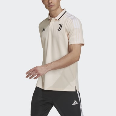 Men Football Pink Juventus Polo Shirt