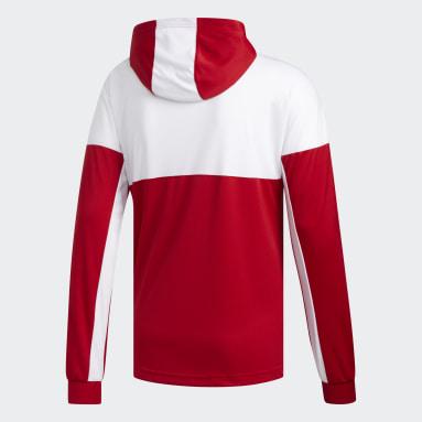 Sweat-shirt à capuche Legend Shooter Rouge Basketball