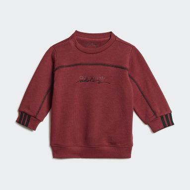 Conjunto sudadera y pantalón R.Y.V. Rojo Niño Originals