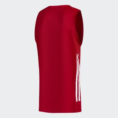 Camiseta de basquet suplente de River Plate Rojo Hombre Básquet