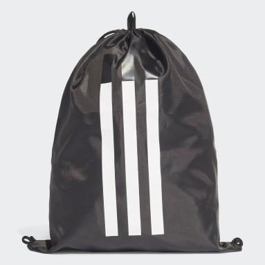 Lifestyle Black 3-Stripes Gym Sack