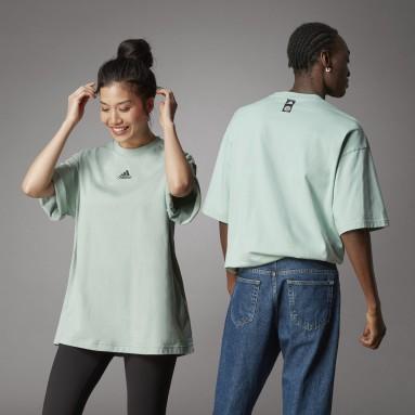 T-shirt de Algodão de Produção Biológica Terra Love Verde Lifestyle