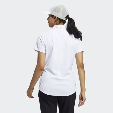 Frauen Golf Equipment Primegreen Poloshirt Weiß