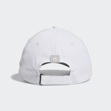 Women Golf White Tour Badge Cap