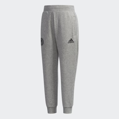 Boys Gym & Training Grey French Terry Pants