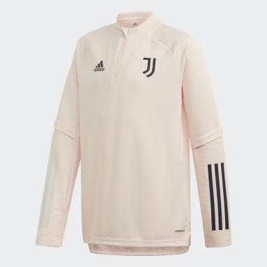 Kids Football Pink Juventus Training Top
