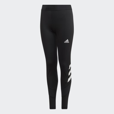 Youth Training Black The Future Today Tights
