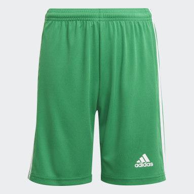Short Squadra 21 Vert Garçons Football