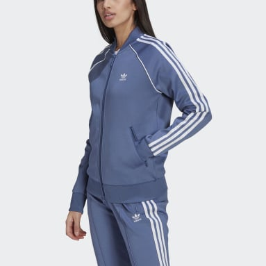 Women Originals Blue Primeblue SST Track Jacket