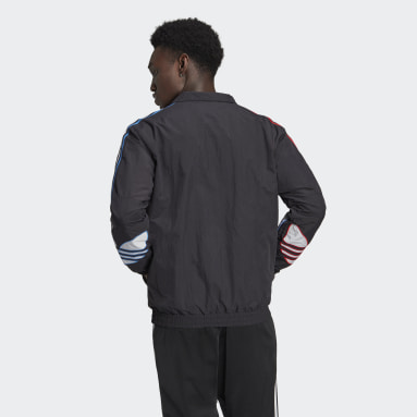 Men Originals Black Adicolor Track Jacket
