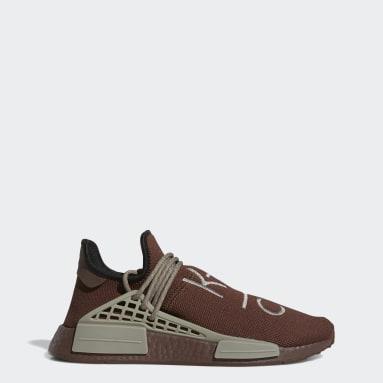 Men Originals Brown HU NMD Shoes