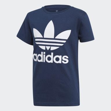 T-shirt Trefoil Bleu Enfants Originals