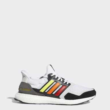 Chaussure Ultraboost S&L Pride blanc Course