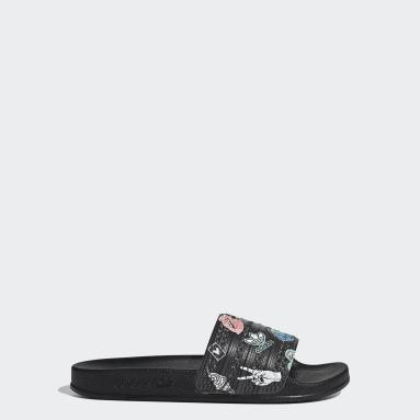 Børn Originals Sort adilette sandaler