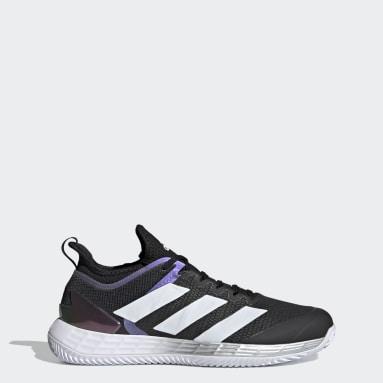 Sapatos Adizero Ubersonic 4 – Terra batida Preto Ténis