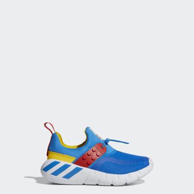เด็ก เทรนนิง สีน้ำเงิน รองเท้า adidas RapidaZen x LEGO®