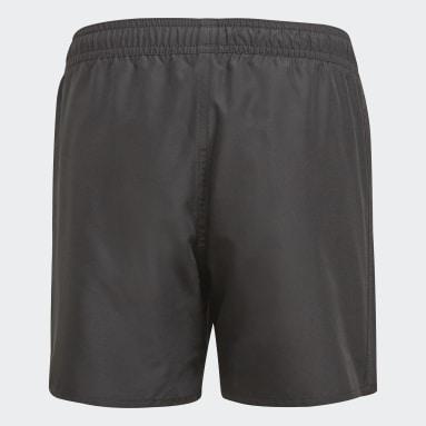 Jongens Zwemmen Zwart Bold Short