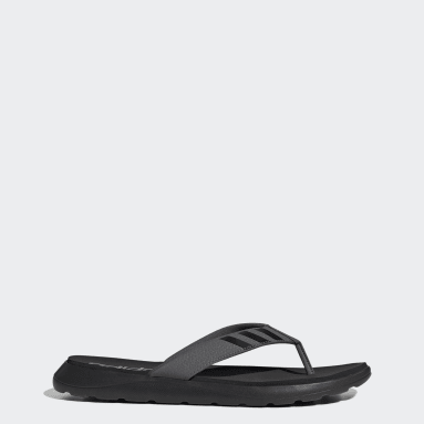 Swimming Black Comfort Flip-Flops