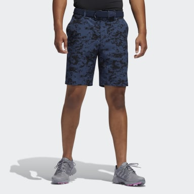 Men Golf Blue Ultimate365 Camo Shorts