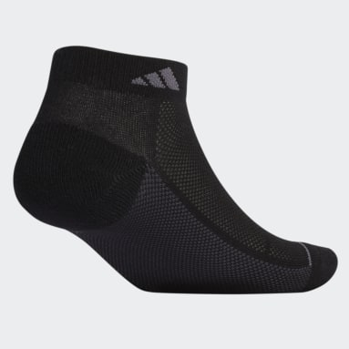 Men's Cycling Black Superlite Stripe Low-Cut Socks 3 Pairs