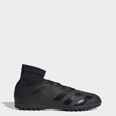 Zapatos de fútbol Predator 20.4 S Pasto Sintético Negro Fútbol