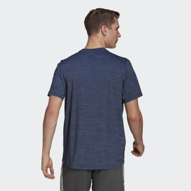 T-shirt AEROREADY Designed To Move Sport Stretch Bleu Hommes Fitness Et Training