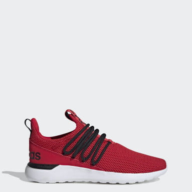 Essentials Red Lite Racer Adapt 3.0 Shoes