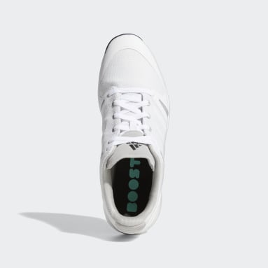 Men's Golf White EQT Primegreen Spikeless Shoes